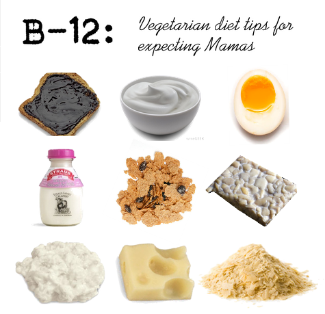 b12-vegetarian-vegan-food-diet-pregnancy-pregnant