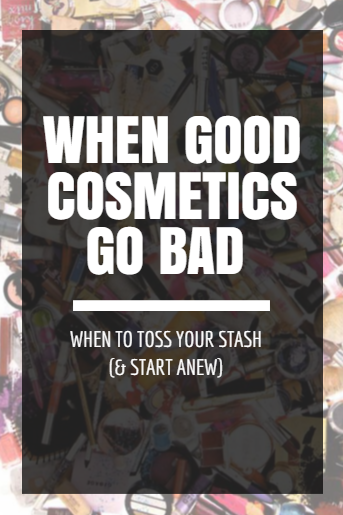 When cosmetics go bad: the shelf life of makeup and skin care