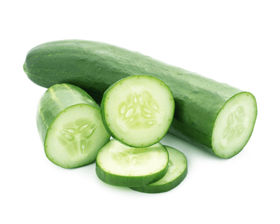 cucumber for skin edema