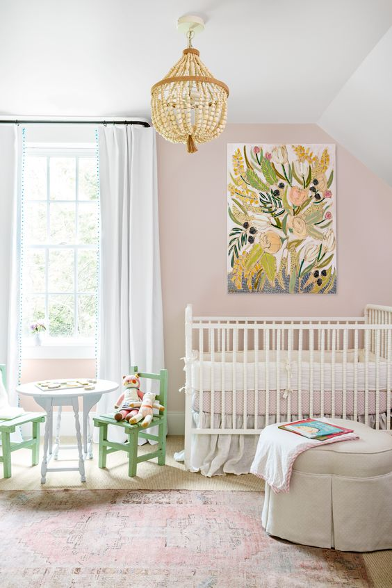 Color of the Year 2017: Pantone's Greenery in Baby Nursery