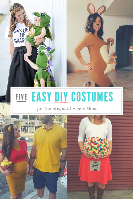 5 easy diy halloween costumes dress up your bump - Pregnant Mom Halloween Costume