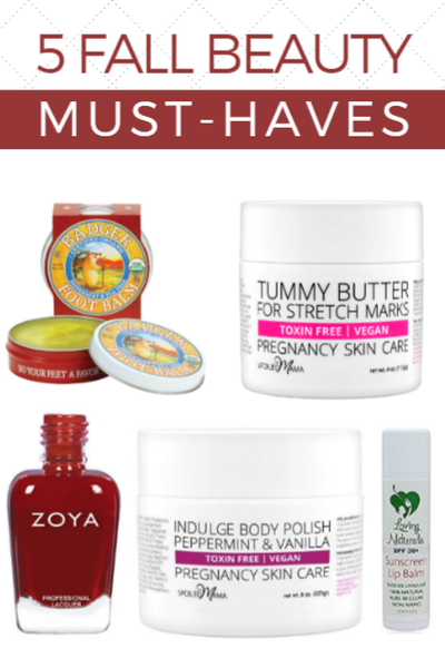 Five Fall Skincare & Beauty Must Haves