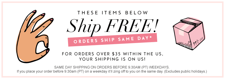 free shipping at the spoiled mama