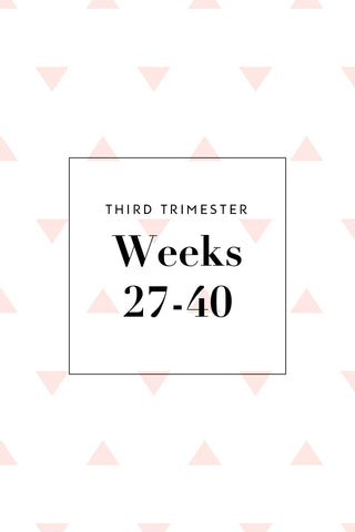 Third Trimester Shopping Checklist