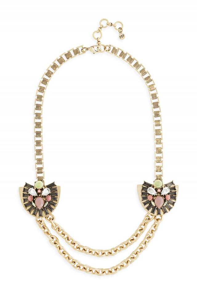 Bellini Necklace in Peach
