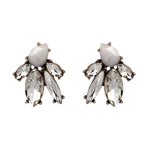 Ayse Earrings in Clear