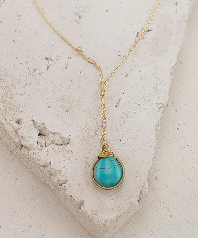 3 Pack - Turquoise Stone Pendant