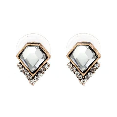 Syra Studs in Clear