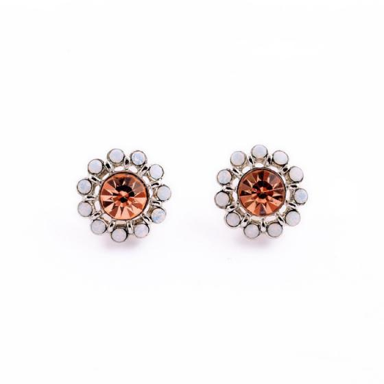 Gracie Studs in Pink