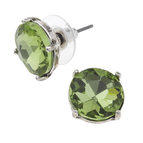 Gem Studs in Green