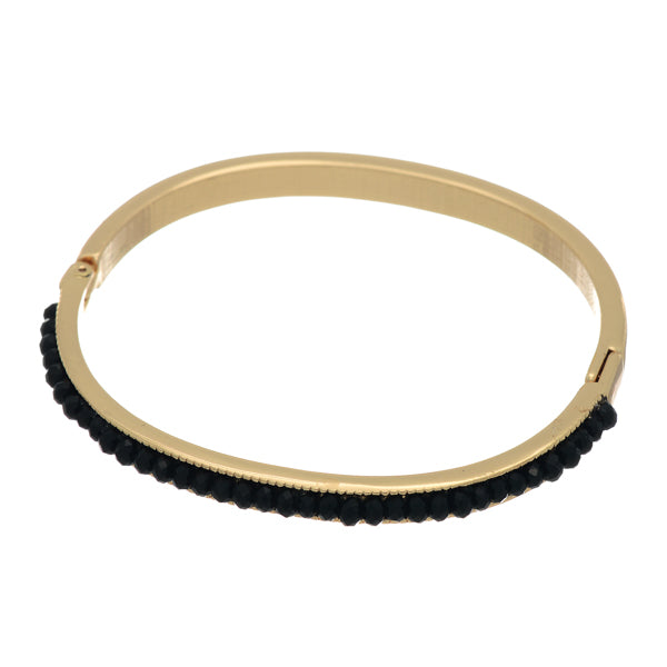 3 Pack - Elena Stackable Bangle in Black