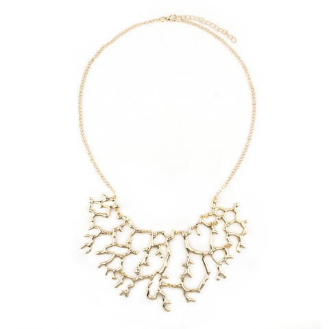 Seaside Coral Necklace