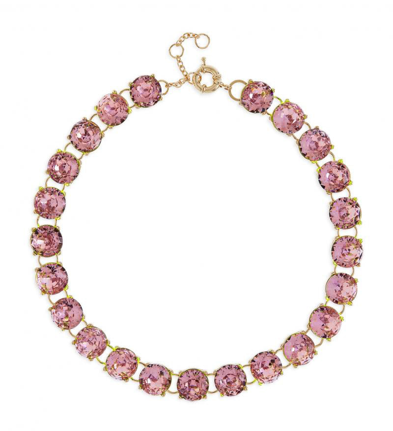 Maddie Necklace in Pink
