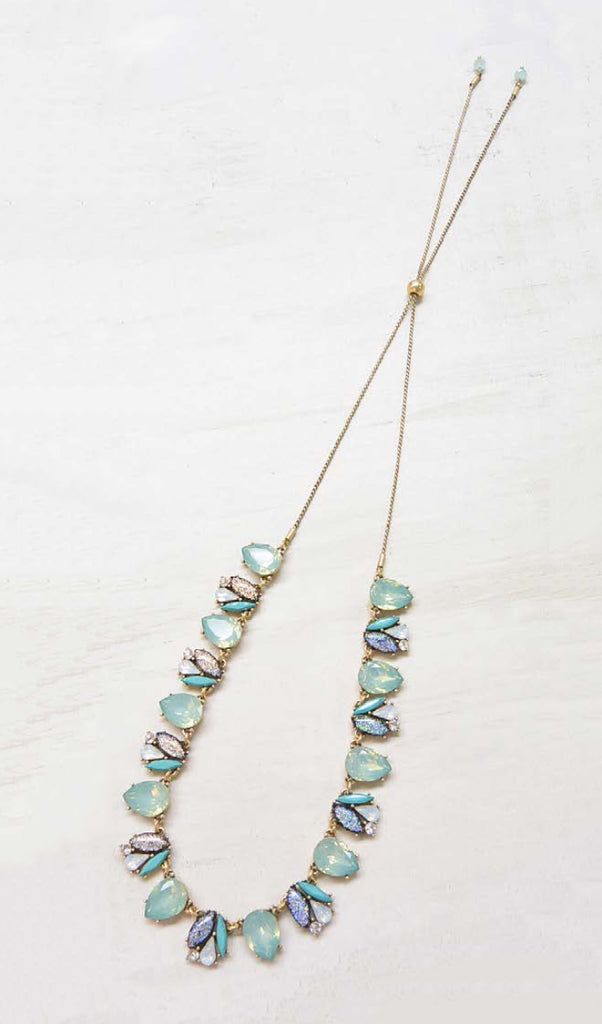 Mint Bolero Statement Necklace