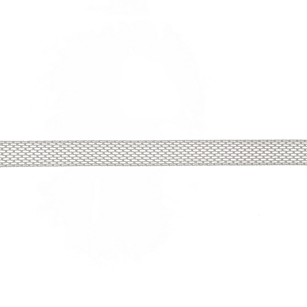 Metal Mesh Choker in Silver