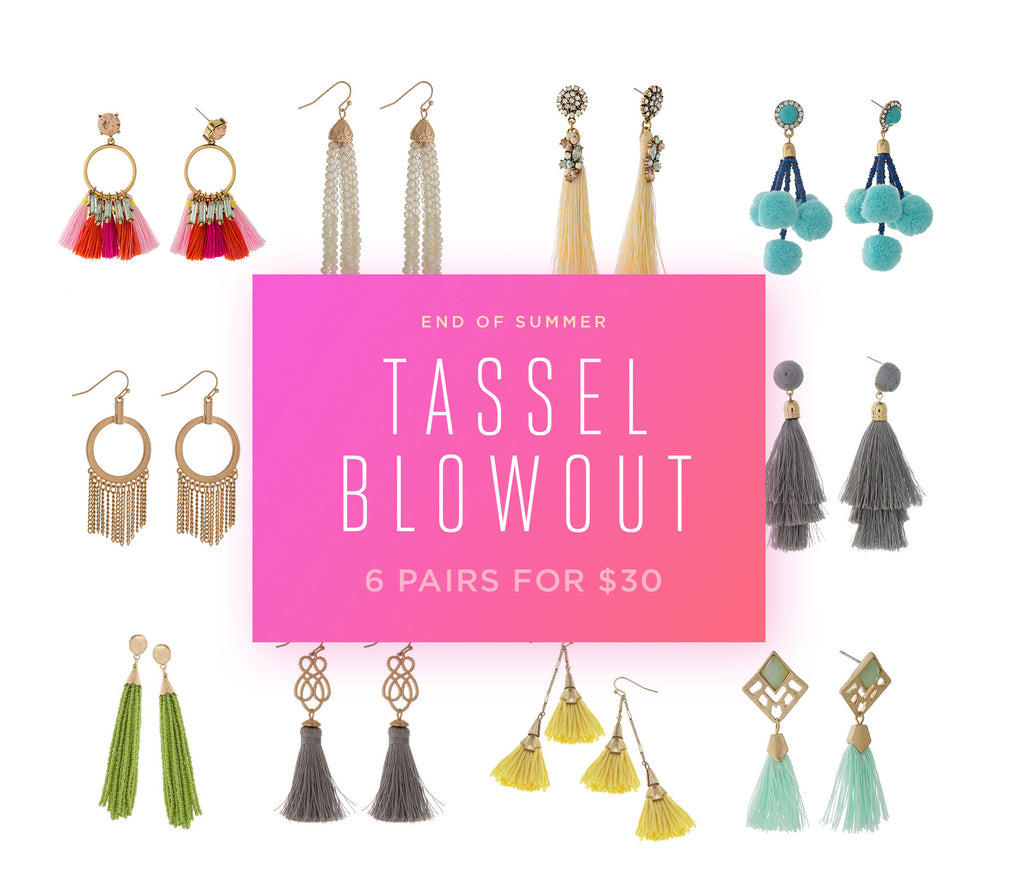 Surprise Box - Tassel Earrings