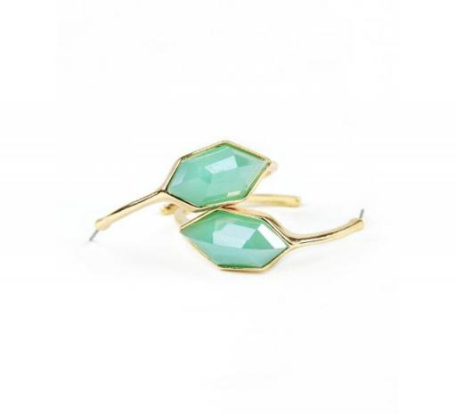 Carina Earrings-Teal