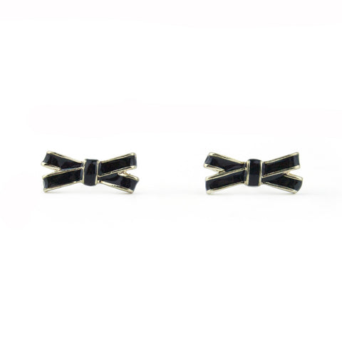6 Pack - Tiny Bow Studs