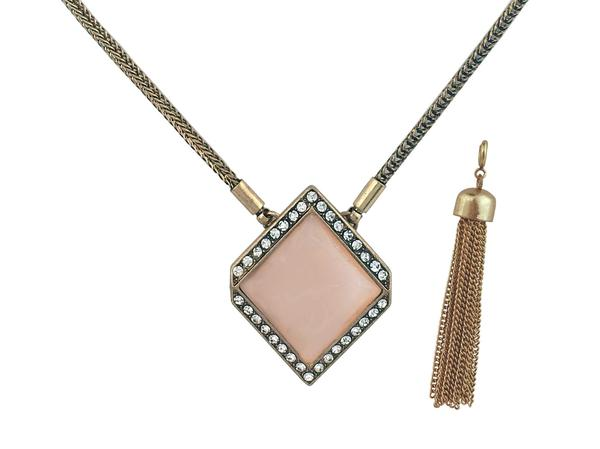 Courtright Convertible Pendant in Pink