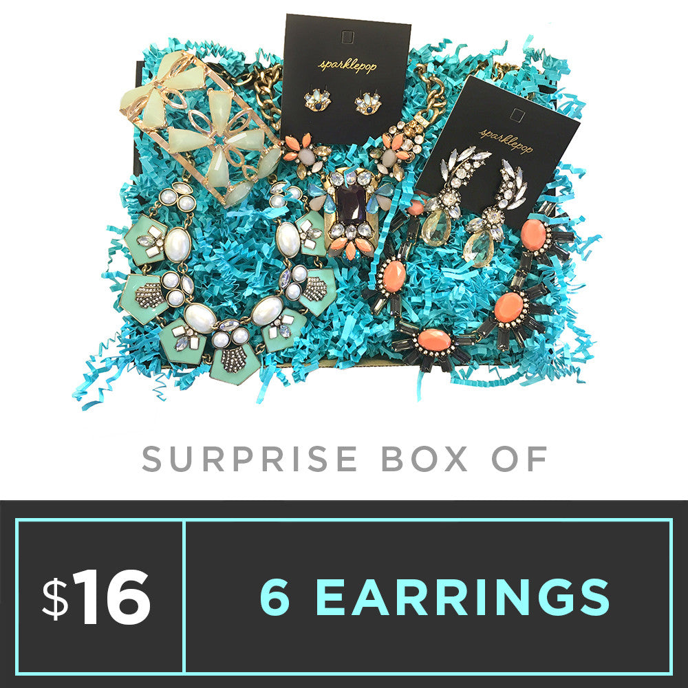Surprise Box - 6 Earrings
