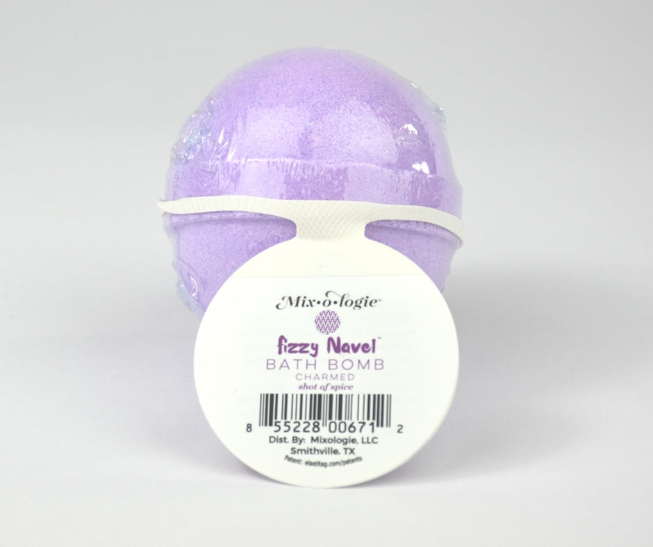 Charmed Fizzy Navel Bath Bomb (shot of spice)