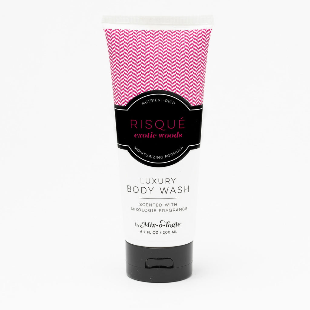 Luxury Body Wash & Shower Gel - Risque (exotic woods) scent