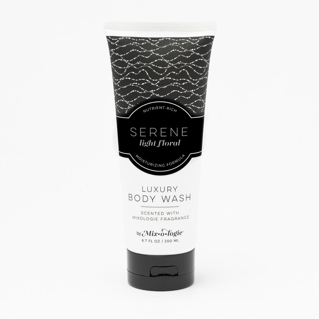 Luxury Body Wash & Shower Gel - Serene (light floral) scent