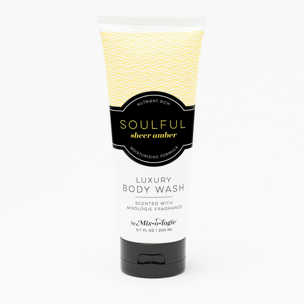 Luxury Body Wash & Shower Gel - Soulful (sheer amber) scent