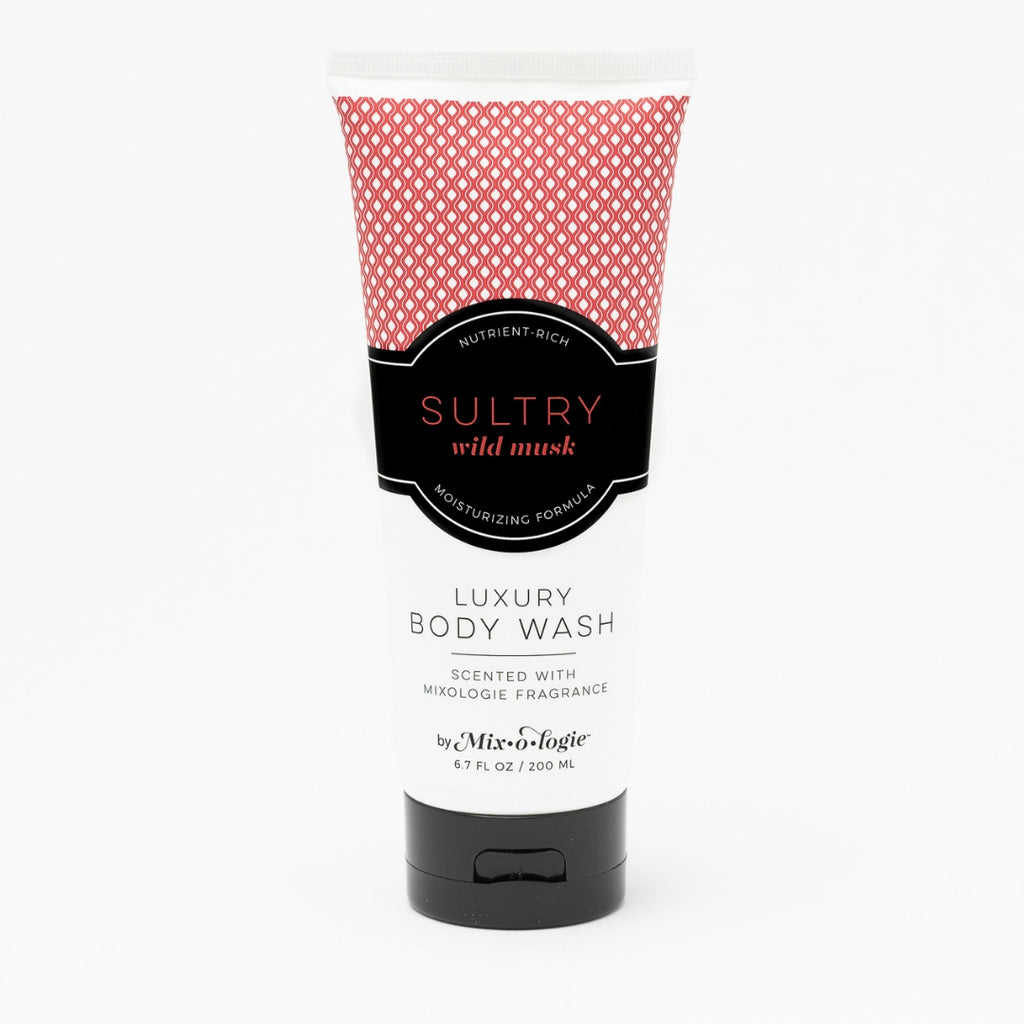Luxury Body Wash & Shower Gel - Sultry (wild musk) scent
