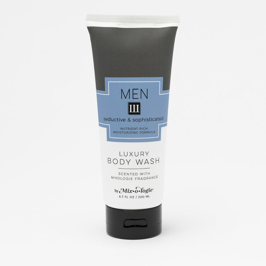 Luxury Body Wash & Shower Gel - Men's III (seductive and sophisticated) scent