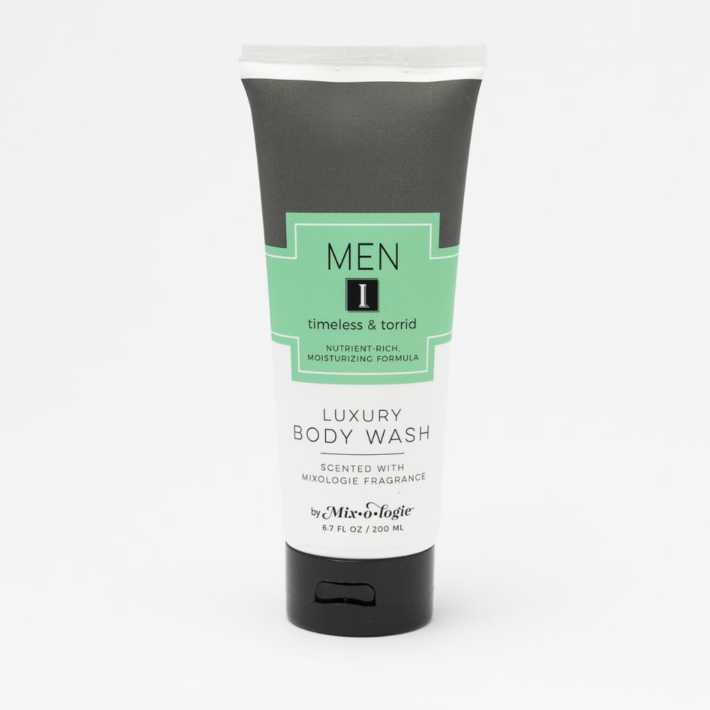 Luxury Body Wash & Shower Gel - Men's I (timeless and torrid) scent
