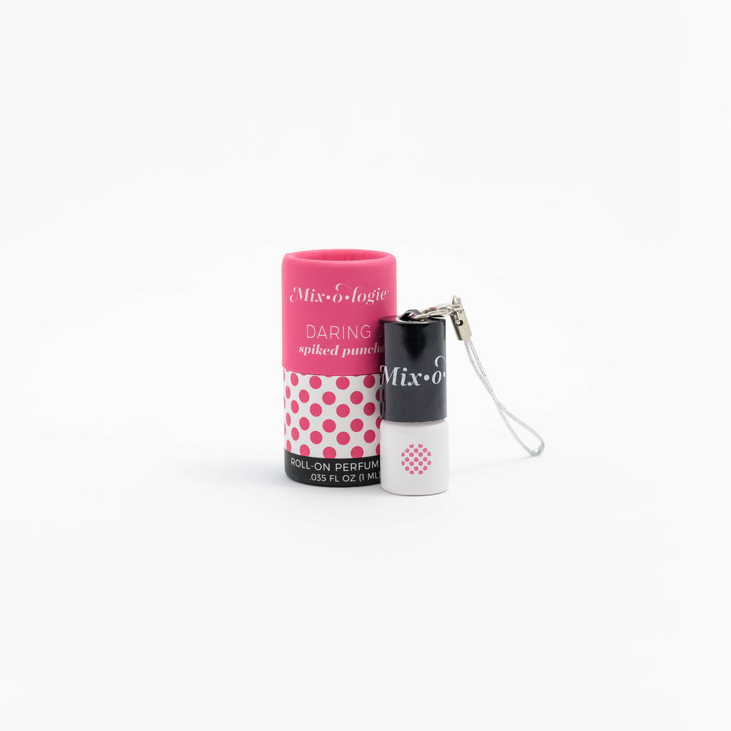 Daring (spiked punch) - MINI Rollerball Keychain