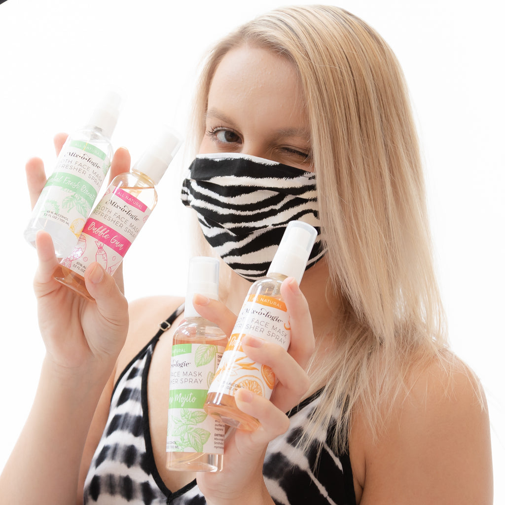 Face Mask Refresher Pre-Pack (32 Bottles / 8 of each scent) - FREE SHIPPING