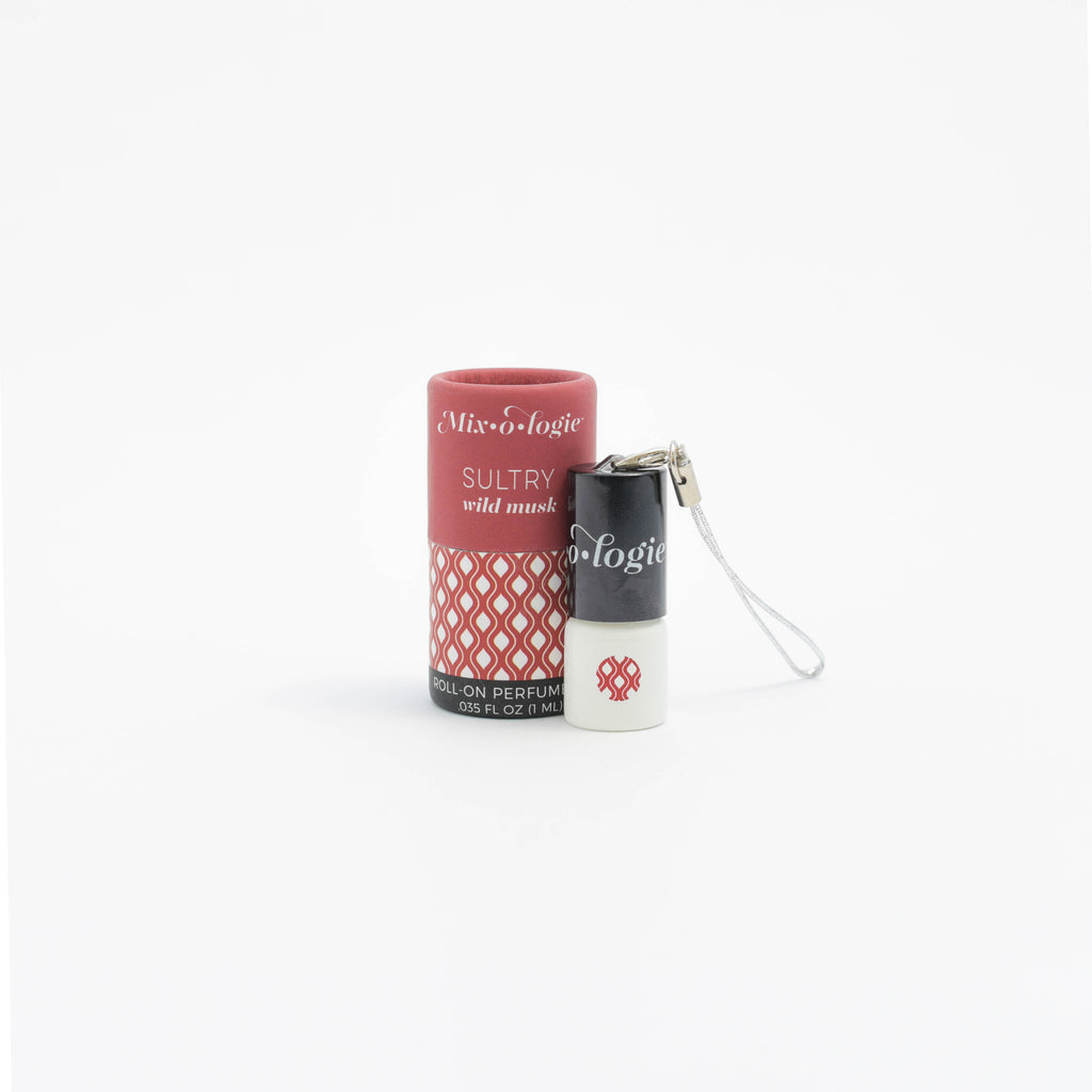 Sultry (wild musk) - MINI Rollerball (1 mL) Keychain