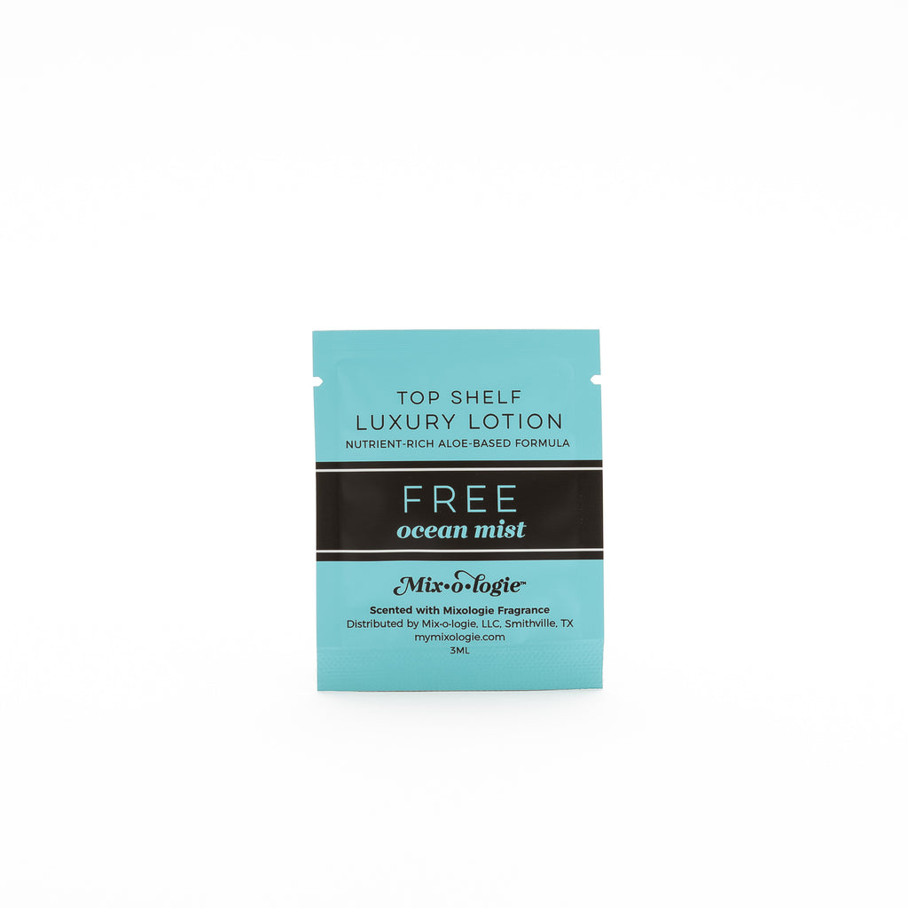 Lotion Sample Pouches - Pack of 100
