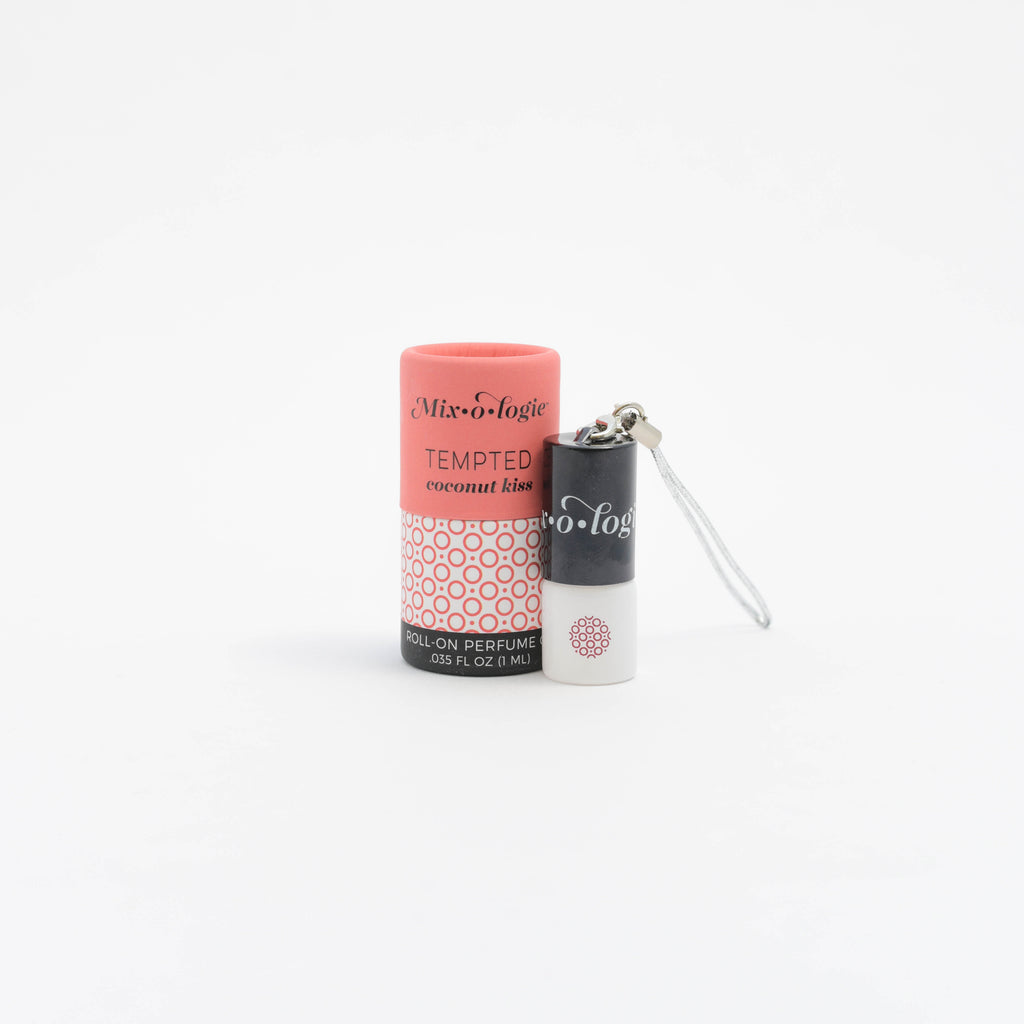 Tempted (coconut kiss) - MINI Rollerball Keychain