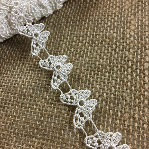 Butterflies Trim Lace Use by the Yard or Cut individually, 3/4