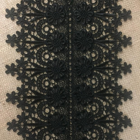 Trim,Lace,Floral,Geometric,Venise by,the,Yard,Guipure,Chemical,Decorations,Table Runner,Cover,Events,Invitations,Arts and Crafts,Scrapbook,Funeral,Casket,Coffin,Ribbon,Victorian,Traditional,DIY Clothing,DIY Sewing,Proms,Bridesmaids,Encaje,A0196P4