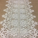 Trim,Lace,Floral,Geometric,Venise by,the,Yard,Guipure,Chemical,Decorations,Table Runner,Cover,Events,Invitations,Arts and Crafts,Scrapbook,Funeral,Casket,Coffin,Ribbon,Victorian,Traditional,DIY Clothing,DIY Sewing,Proms,Bridesmaids,Encaje,A0196P6