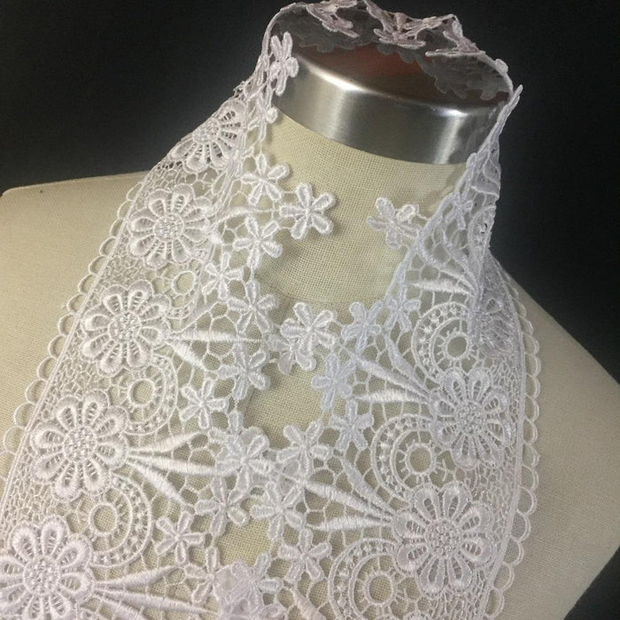 Trim,Lace,Floral,Geometric,Venise by,the,Yard,Guipure,Chemical,Decorations,Table Runner,Cover,Events,Invitations,Arts and Crafts,Scrapbook,Funeral,Casket,Coffin,Ribbon,Victorian,Traditional,DIY Clothing,DIY Sewing,Proms,Bridesmaids,Encaje,A0196P11