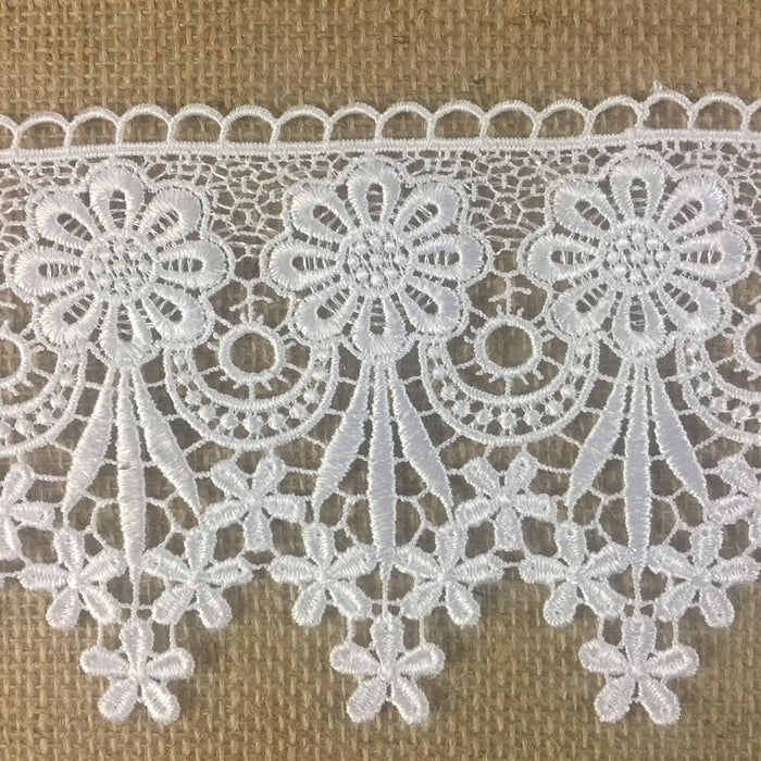 Trim,Lace,Floral,Geometric,Venise by,the,Yard,Guipure,Chemical,Decorations,Table Runner,Cover,Events,Invitations,Arts and Crafts,Scrapbook,Funeral,Casket,Coffin,Ribbon,Victorian,Traditional,DIY Clothing,DIY Sewing,Proms,Bridesmaids,Encaje,A0196P9