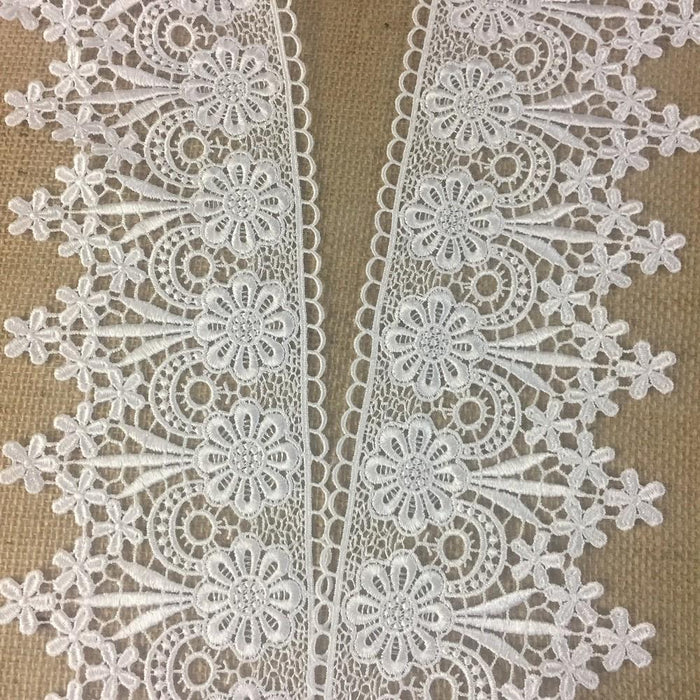 Trim,Lace,Floral,Geometric,Venise by,the,Yard,Guipure,Chemical,Decorations,Table Runner,Cover,Events,Invitations,Arts and Crafts,Scrapbook,Funeral,Casket,Coffin,Ribbon,Victorian,Traditional,DIY Clothing,DIY Sewing,Proms,Bridesmaids,Encaje,A0196P10