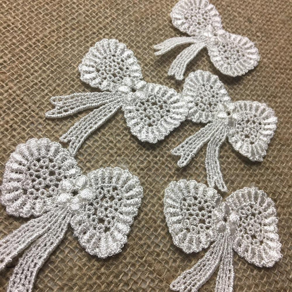 Lace,Applique,Piece,Bow,Tie,Ribbon,Embroidery,Venise,Patch,Guipure,Chemical Venise,Venice,Collar,Yoke,Lace,Bridal,Decorations,Invitations,Arts,and,Crafts,Scrapbook,Casket,Coffin Ribbon,Victorian,Traditional,DIY Clothing,DIY Sewing,Proms,Bridesmaids,Encaje,A0238N4S