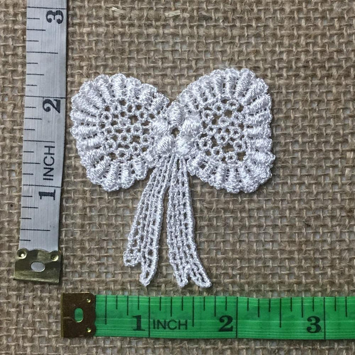Lace,Applique,Piece,Bow,Tie,Ribbon,Embroidery,Venise,Patch,Guipure,Chemical Venise,Venice,Collar,Yoke,Lace,Bridal,Decorations,Invitations,Arts,and,Crafts,Scrapbook,Casket,Coffin Ribbon,Victorian,Traditional,DIY Clothing,DIY Sewing,Proms,Bridesmaids,Encaje
