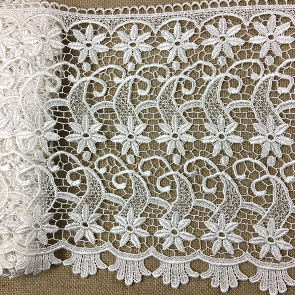Trim Lace Venise by the Yard, Starfish, 13