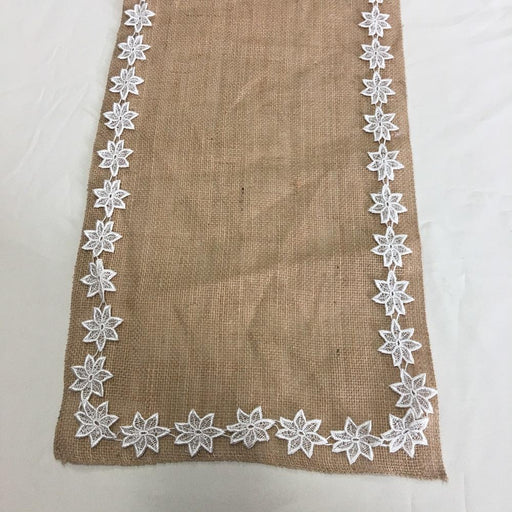 "Lace Trim Stars 1.5"" Wide Magic Spinning Stars Venise. Use Yardage or Cut Separately. Choose Color. Multi-Use ex: Garments Tops Dresses Bridal Decoration Craft Costume Veil"