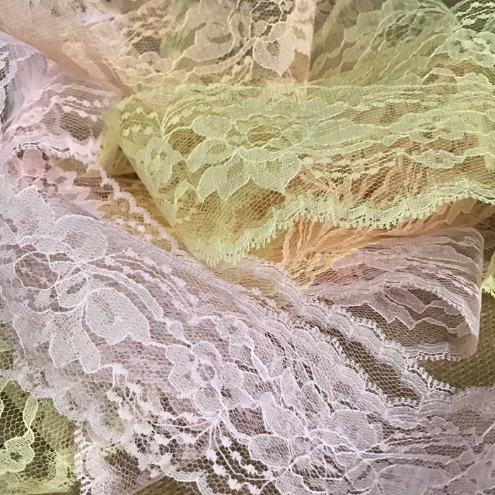 "Raschel Trim Lace 3"" Decorations Table Runner Events Invitations Arts and Crafts Scrapbook Ribbon Victorian Traditional DIY Clothing DIY Sewing Proms Bridesmaids Encaje  Retro French Venice Lace"