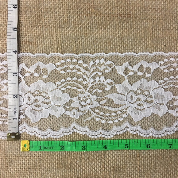 Raschel Trim Lace Beautiful Floral 4