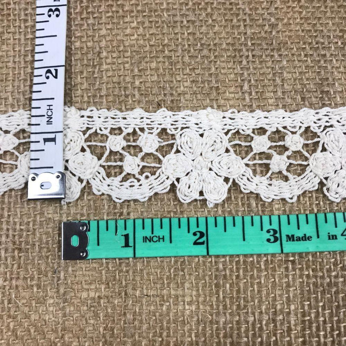 Wholesale Cotton Cluny Trim by the yard Decorations Table Runner Cover Events Invitations Arts and Crafts Scrapbook Ribbon Victorian Traditional DIY Clothing DIY Sewing Prom Bridesmaid Encaje  Retro French Venice Lace