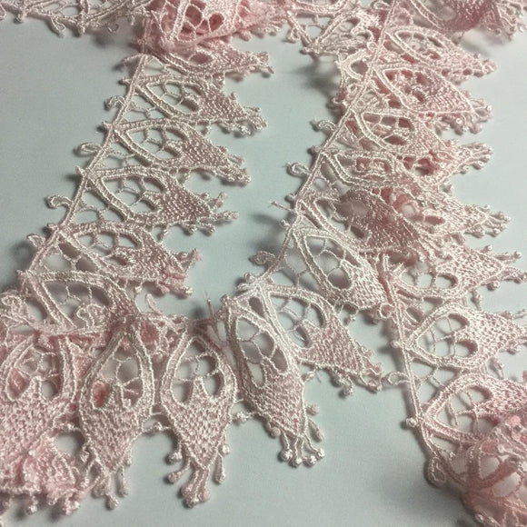 Trim Lace Pink 2.5